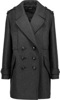 Isabel Marant Karly oversized double-breasted wool-blend coat