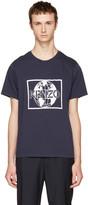 Kenzo Navy 'KENZO World' T-Shirt