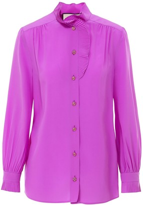 Gucci Ruffled Detail Shirt