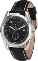 K&S KS Imperial Men's Automatic Mechanical Date Day Month Display Leather Band Watch KS177
