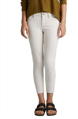Silver Jeans Avery High Rise Skinny Crop Pants