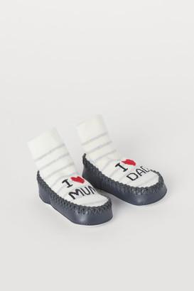 H&M Slipper Socks - White