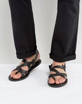 Zign Shoes Leather Sandals