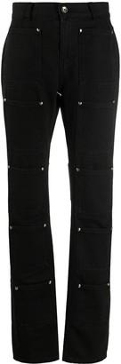 Lourdes Pocket Straight-Leg Jeans