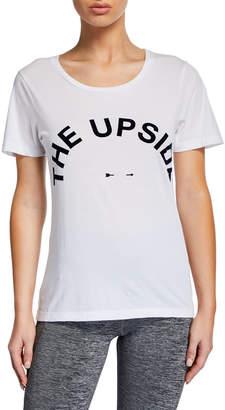 The Upside Short-Sleeve Logo Tee