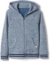 Gap Marled fleece zip hoodie