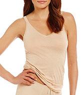Fine Lines Australia Pure Cotton Thin-Strap V-Neck Camisole