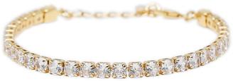 Ettika Crystal Chain Bracelet