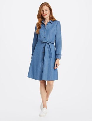 Draper James Chambray Shirtdress