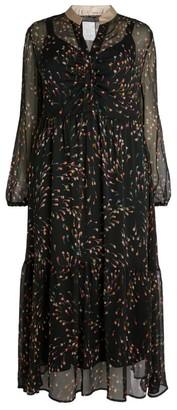 Marina Rinaldi Floral Midi Dress