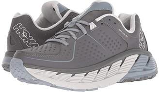 Hoka One One Gaviota Leather (Charcoal/Tradewinds) Women's Running Shoes