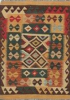 Ecarpetgallery Hand-woven Anatolian Kilim Open Field 3' x 4' 100% Wool area rug