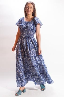 Pink City Prints - Rah Rah Spanish Dress - Small