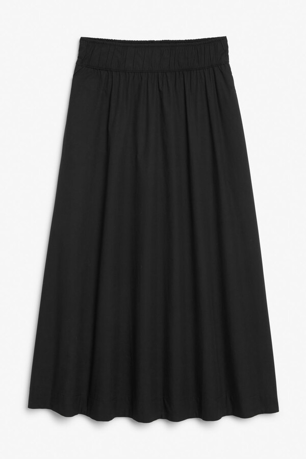 Thumbnail for your product : Monki Cotton maxi skirt