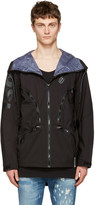 Diesel Black X Collection Mo-J-Ty Hooded Jacket