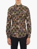 Valentino Camustar Cotton Utility Shirt