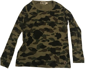 A Bathing Ape Green Cotton Tops
