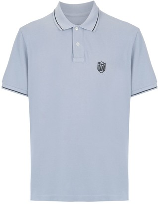 OSKLEN embroidered polo shirt