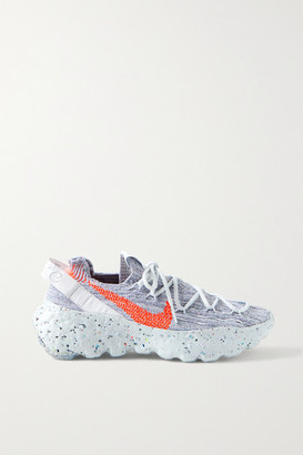 Nike Space Hippie 04 Space Waste Flyknit Sneakers - Gray