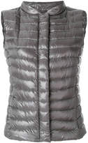 Herno slim-fit padded gilet