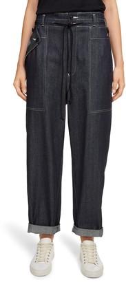 Y's by Yohji Yamamoto Side Zip Wide Leg Jeans