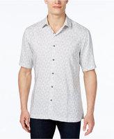 Alfani Men's Geo-Print Short-Sleeve Shirt, Classic Fit