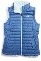 The North Face Girl's Mossbud Reversible Water Repellent Vest