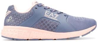 EA7 Emporio Armani Logo Lace-Up Sneakers