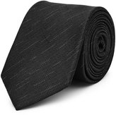 Reiss Malta - Silk Patterned Tie in Grey, Mens