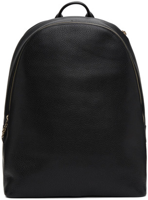 Paul Smith Black Striped Strap Backpack