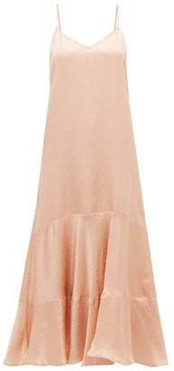 Mes Demoiselles Suite Polka-dot Satin Dress - Womens - Light Pink