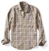 Banana Republic Grant-Fit Luxe Flannel Windowpane Shirt
