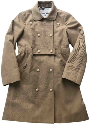See by Chloe Beige Cotton Coat for Women