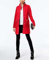 INC International Concepts Stand-Collar Knit Coat, Created for Macy's