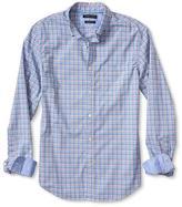 Banana Republic Grant-fit Custom Wash Complex Check Shirt