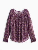 Splendid Girl Crinkle Chiffon Top