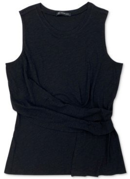 INC International Concepts Inc Twist-Front Tank Top, Created for Macy's