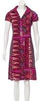 Etro Paisley Print A-Line Dress