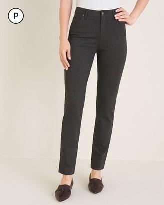 Chico's Petite Ponte 5-Pocket Slim Pants