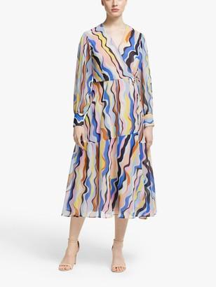 Marella Oggi Abstract Midi Dress, Multi