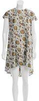 Balenciaga Floral Print Mini Dress w/ Tags
