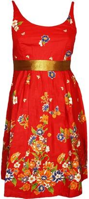 Ex Highstreet G-Heaven Scoop Neck Floral Summer Dress. 7 Colours. RRP: 22. Size 8-12 Gold