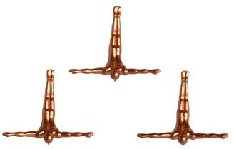 Lifestyle Brands Wall Diver, Bronze 3-Pack
