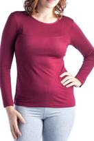 24/7 Comfort Apparel Long-Sleeve Crew-Neck Sweater