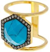 Ariella Collection Barrel Stone Ring