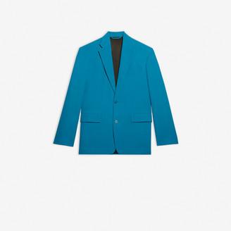 Balenciaga Boxy Small Fit Single Breasted Jacket