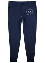 True Religion Navy Jersey Jogging Trousers