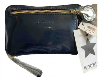 See by Chloe Navy Patent leather Handbags
