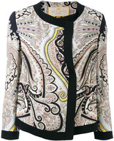 Etro printed jacket - women - Silk/Acetate/Viscose - 40