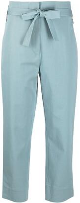 Odeeh Tie-Waist Cropped Trousers